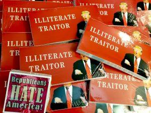 anti trump sticker